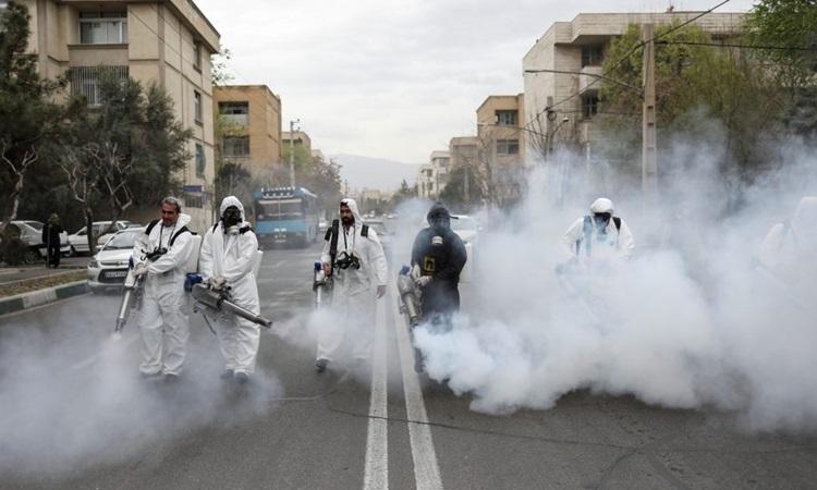 Iran ghi nhận hơn 2.200 ca tử vong do nCoV - ảnh 1
