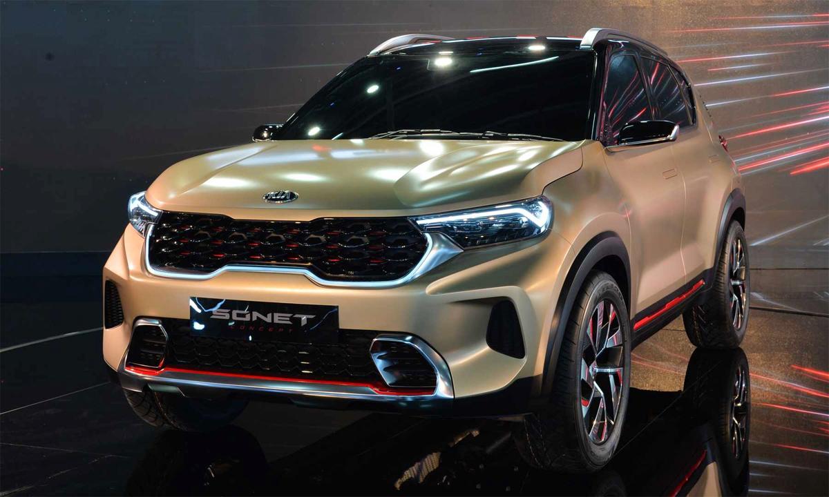 Xe SUV mới của Kia ra mắt vào tháng 8