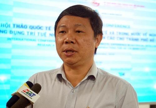 Ông Dương Anh Đức bên lề một buổi hội thảo hồi tháng 9/2019. Ảnh: Mạnh Tùng