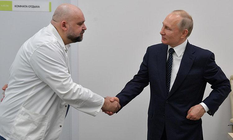 Putin làm việc từ xa - ảnh 2