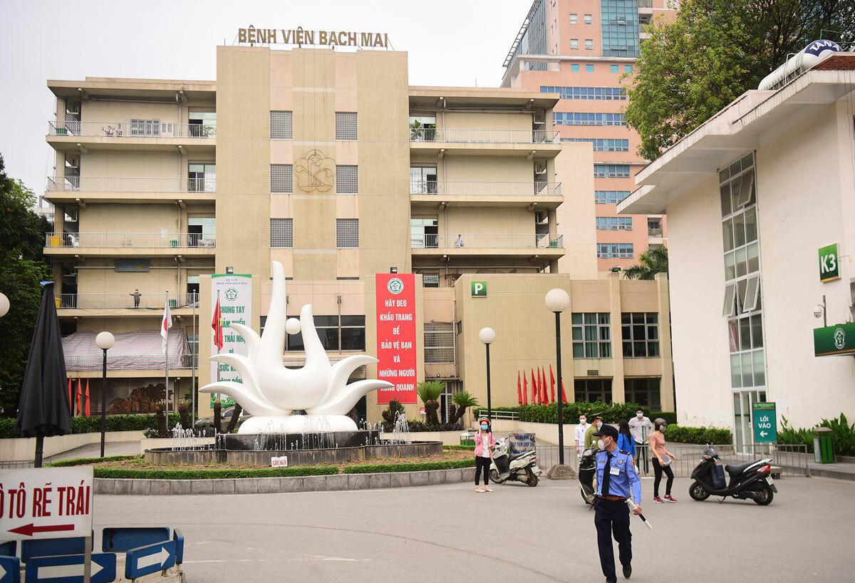9.000 người phải giám sát vì từng đến Bệnh viện Bạch Mai - ảnh 1