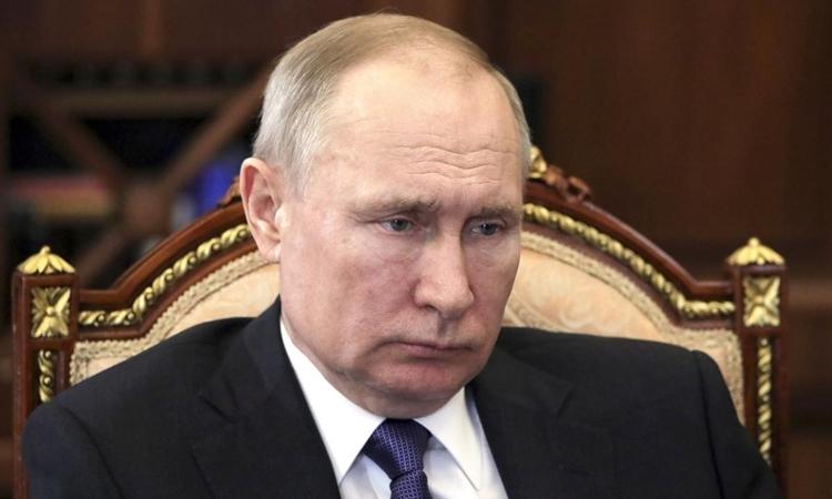 Putin làm việc từ xa - ảnh 1