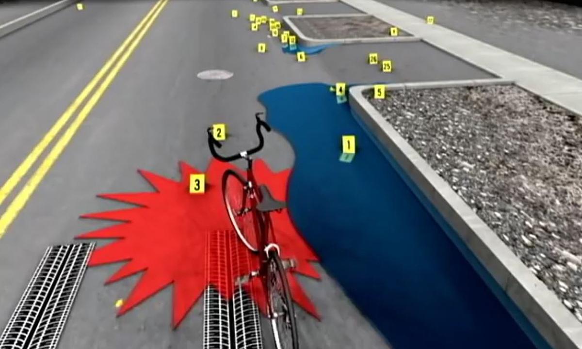 Mảnh nhựa tố cáo tài xế tông chết người đi đường -
