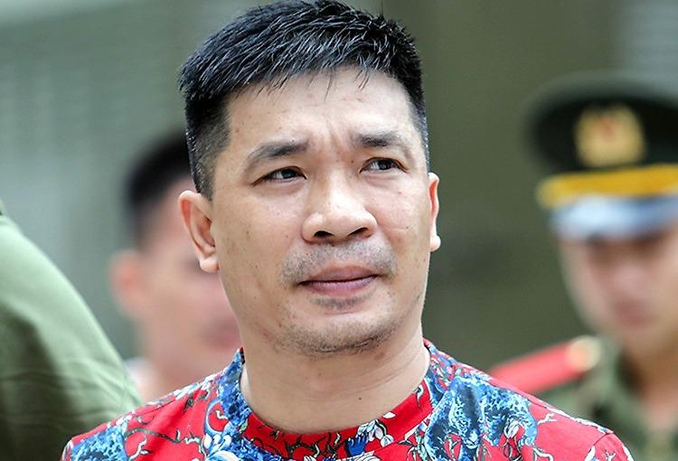 Trùm ma túy Văn Kính Dương tại tòa năm ngoái. Ảnh: Thành Nguyễn.