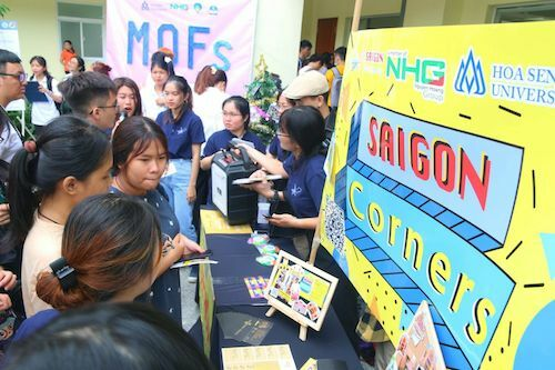 Đề án Saigon Corners của sinh viên Khoa Du lịch HSU nổi tiếng với nhiều sự kiện tổ chức thành công, thu hút công chúng.
