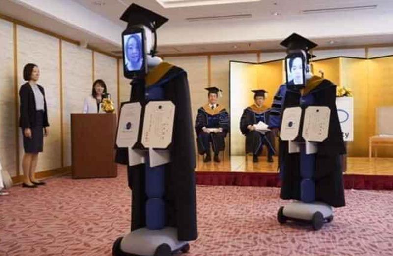 Sinh viên Nhật nhận bằng tốt nghiệp online mùa dịch - 4