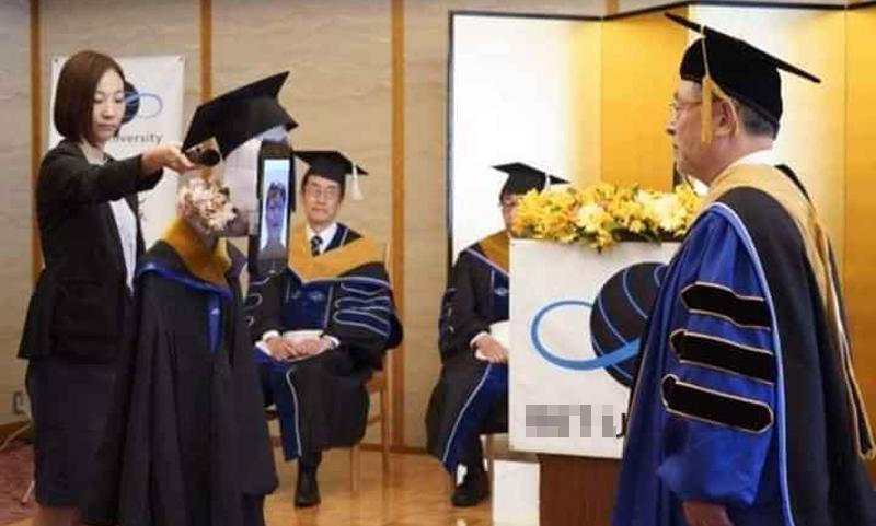 Sinh viên Nhật nhận bằng tốt nghiệp online mùa dịch - 8