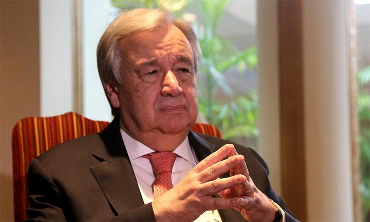 Tổng thư ký Liên Hợp Quốc Antonio Guterres. Ảnh: ABC News.