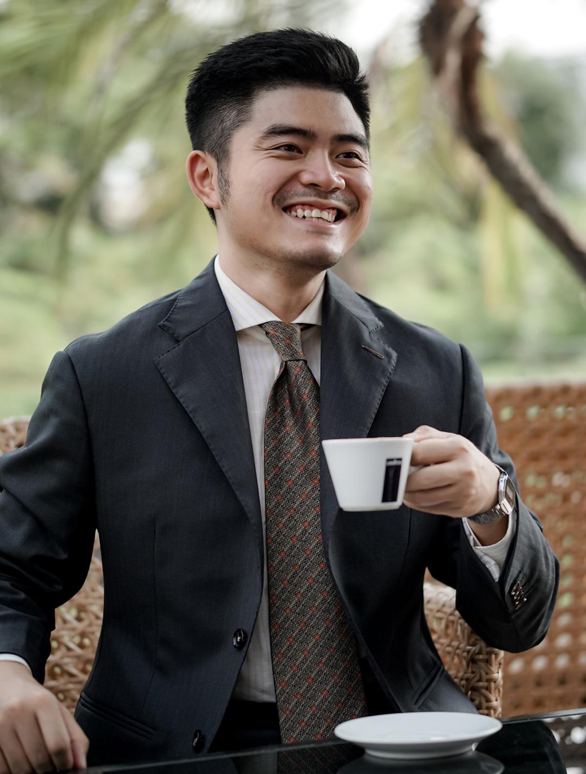 Ông Hoàng Minh Thành, Thành viên Ban giám khảo cuộc thi RESET 1010. Ảnh: NVCC.