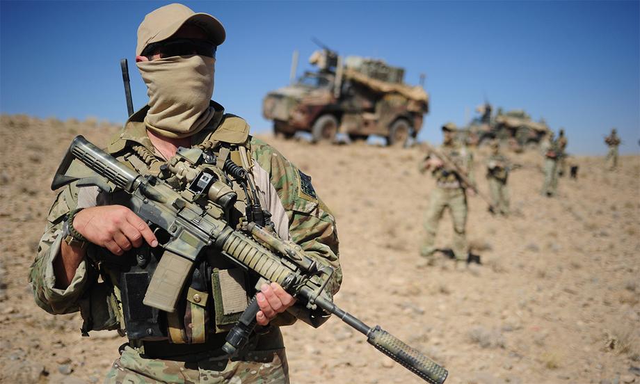 Đặc nhiệm Australia tại Afghanistan. Ảnh: BQP Australia.