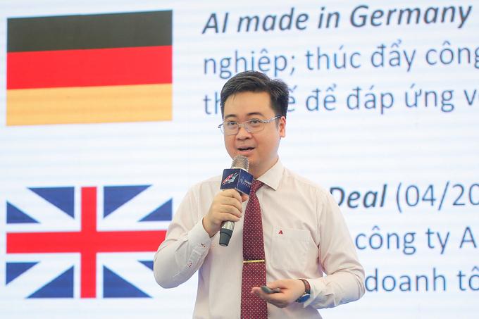 PGS Trần Minh Triết cho rằng cần phải thu thập và lưu trữ dữ liệu. Ảnh: BTC.