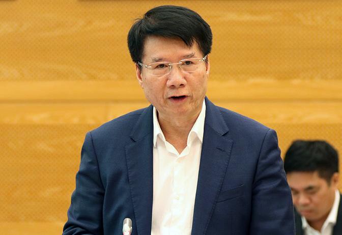 Thứ trưởng Y tế Trương Quốc Cường. Ảnh: Đình Trung.