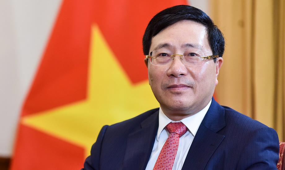 Phó Thủ tướng, Bộ trưởng Ngoại giao Phạm Bình Minh. Ảnh: Báo Thế giới và Việt Nam.