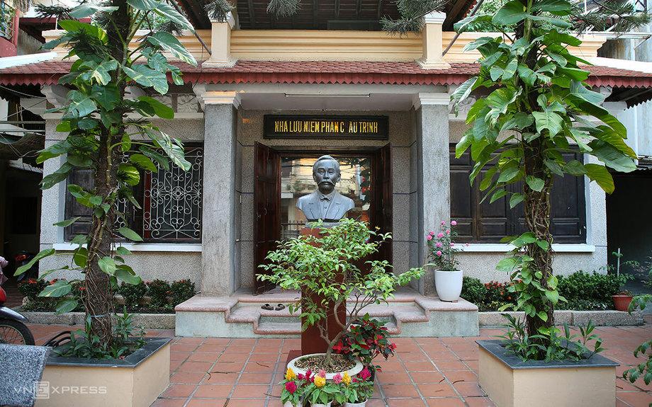 Nhà lưu niệm chí sĩ Phan Châu Trinh trên con đường cùng tên. Ảnh: Nguyễn Đông.