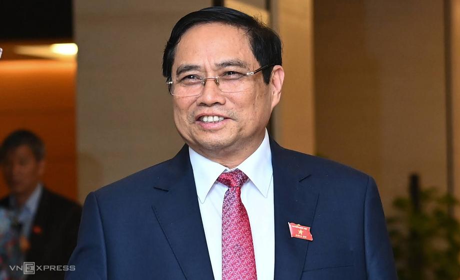 Tân Thủ tướng Phạm Minh Chính. Ảnh: Giang Huy