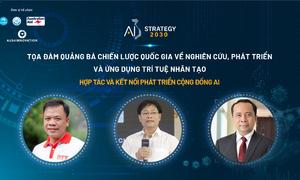 Tọa đàm trực tuyến 'kết nối phát triển cộng đồng AI'