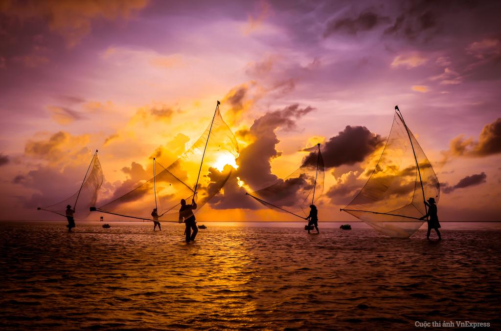 Điệu múa trên biển