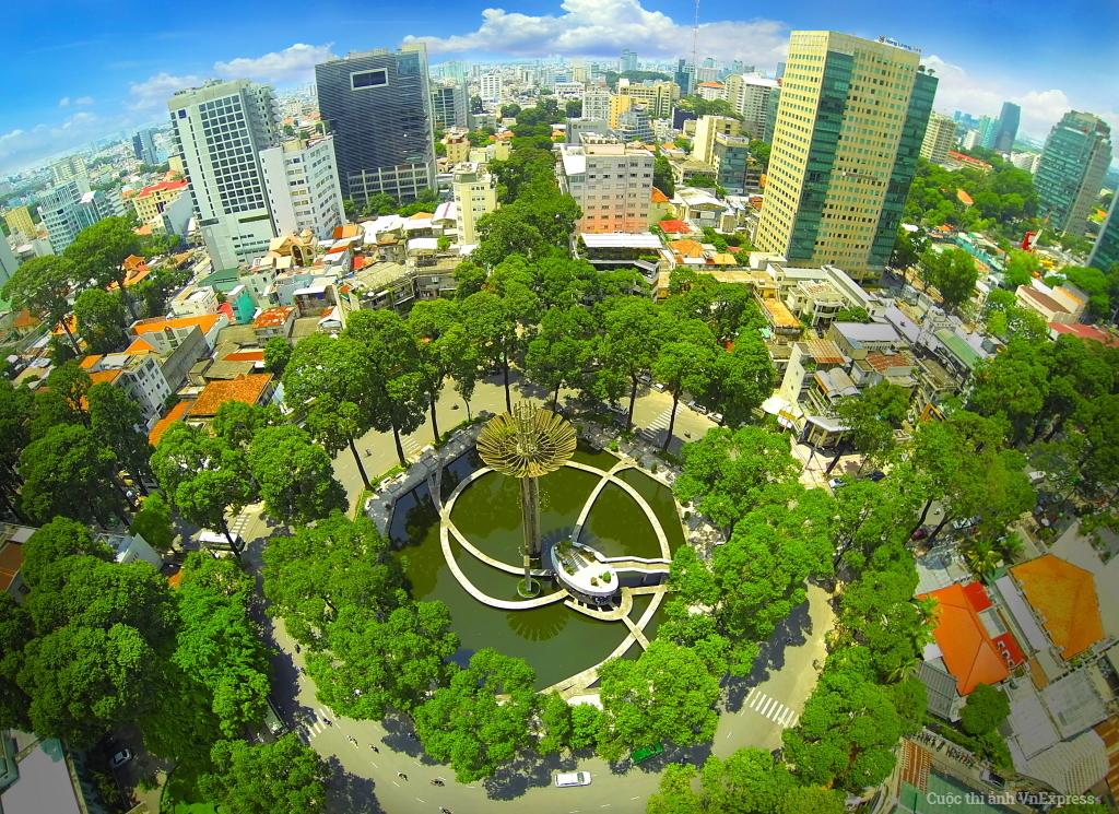 Hồ con rùa trấn yểm vùng đất Sài Gòn