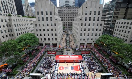 Rockefeller Plaza - nét điểm xuyến giữa lòng New York